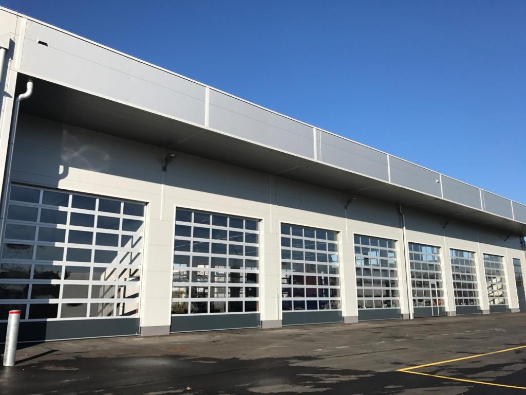 Industrietor Rahmenkonstruktion 02   Tore bei Werkstatt   Svoboda Metalltechnik
