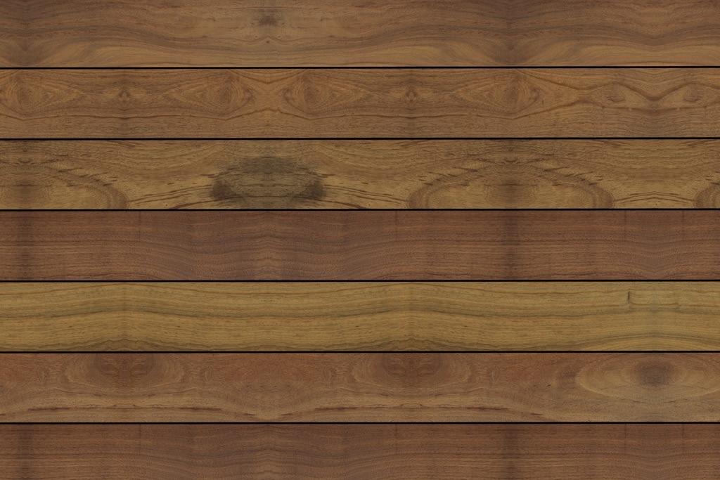 Fano Musterbild IPE 95 mm glatt geölt | Draufsicht, dunkelbrauner Boden aus Echtholz | Svoboda