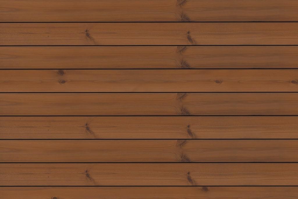 Fano Musterbild Thermo Kiefer glatt braungeölt | Echholzdielen rot-braun | Svoboda