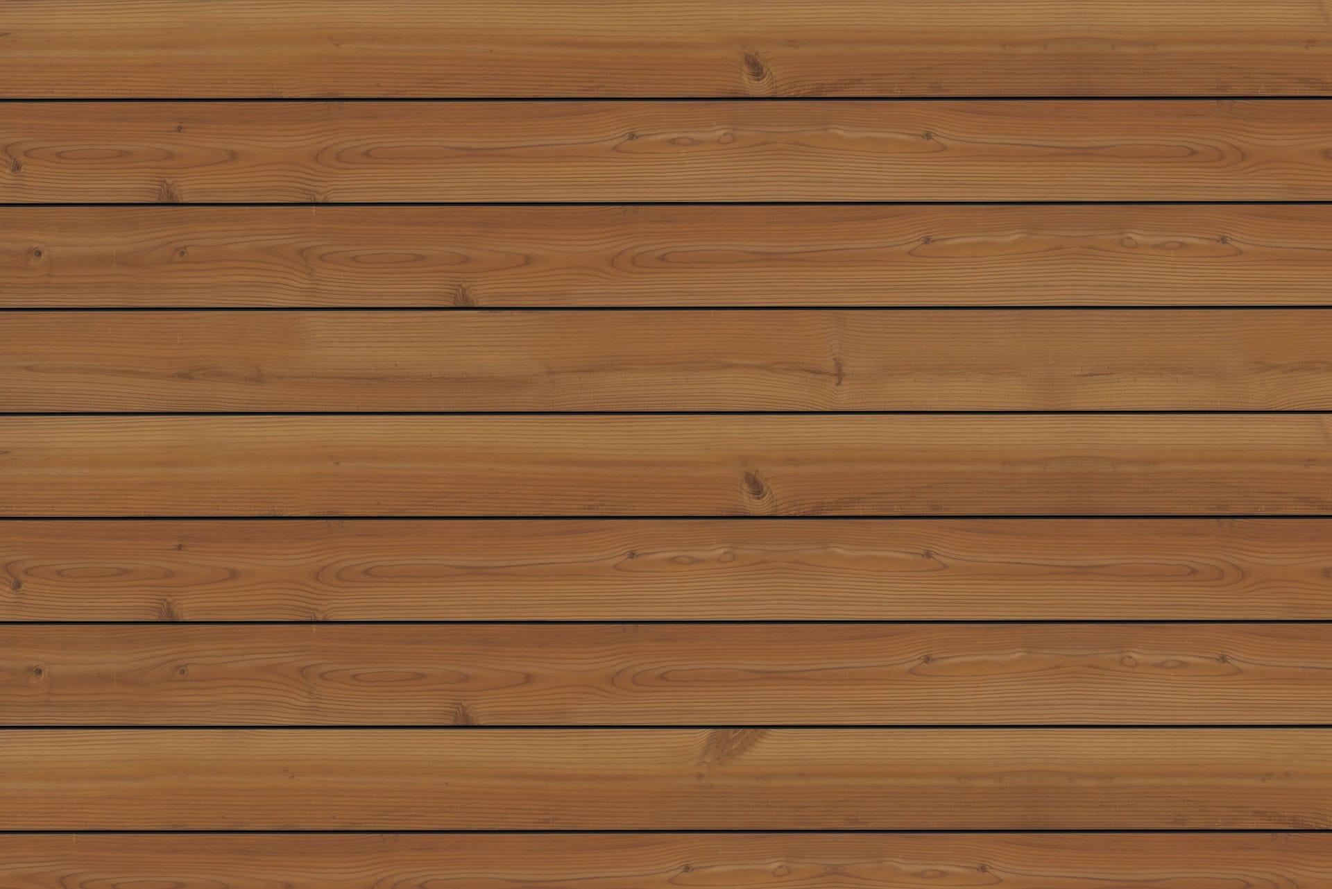 Fano Musterbild Thermo Kiefer glatt | Terrassenboden aus Holz für den Außenbereich braun | Svoboda