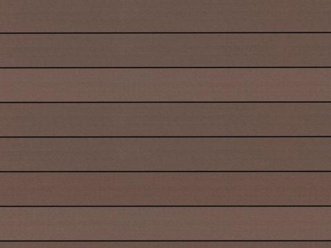 Fano WPC 25 | Musterbild Erdbraun glatt | Bodenbelag für den Außenbereich | Svoboda