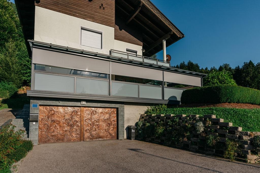 Sommergarten Alu 42 z6 | Terrassendach mit Fixglas, Schiebe-Dreh-Verglasung & Z-Markise | Svoboda