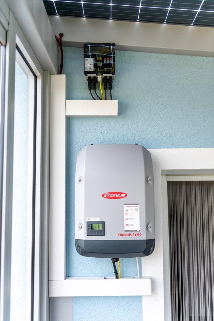 Photovoltaik-Sommergarten Alu 01 z29 | Wechserichter für Solar-Strom-Erzeugung bei PV-Dach | Svoboda