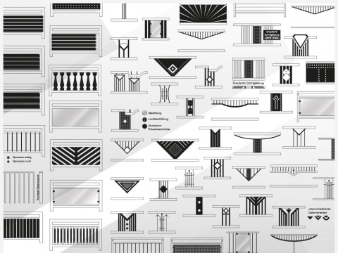 Grafik | Aluminium-Modelle Sammlung | Svoboda Metalltechnik