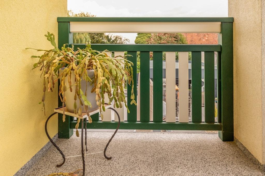 Baden 31 m | Balkon aus pulverbeschichtetem Aluminium auf Boden aufgesetzt montiert | Svoboda